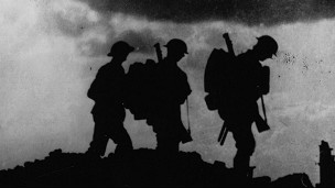 Британские солдаты в районе Ипра
