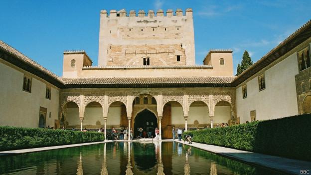 Palacio de la Alhambra en España