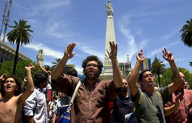 Imagen de archivo de la crisis de 2001 en Argentina