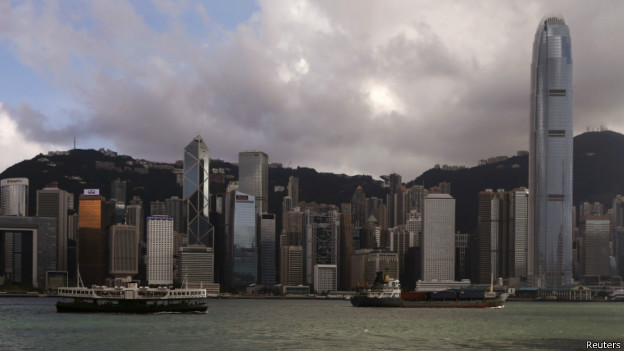 香港金融区(18/06/2014)