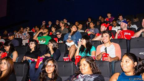 Cine en 4D en Los Ángeles