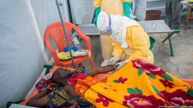 MSF a dû accroitre la capacité d'accueil de son centre de traitement pour faire face au nombre croissant de patients,