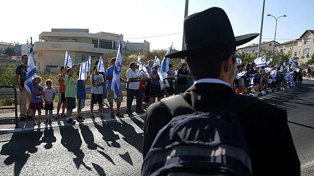 Dolientes israelíes