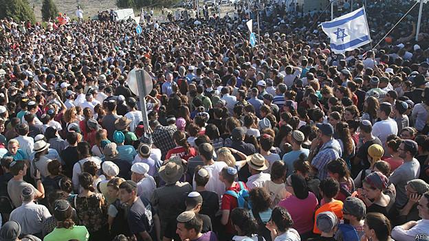 Multitud Israel