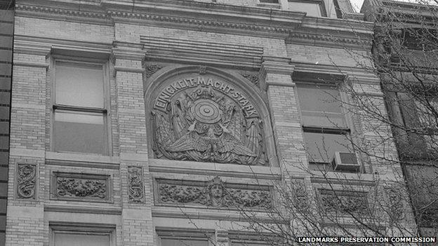 El club de la Sociedad de Tiro germano-americana en Nueva York.