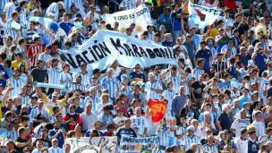 Torcida argentina (Getty)