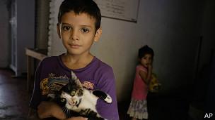 Menores centroamericanos en México