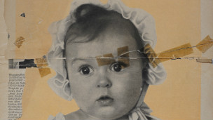 Capa da revista com bebê judeu | Museu do Holocausto