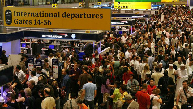 Seguridad en los aeropuertos