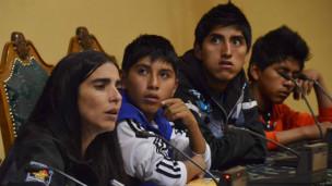 Unatsbo | Crédito: Senado Bolivia Facebook