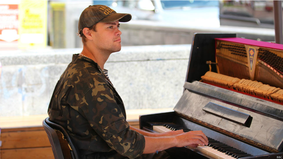 Фортепиано на Майдане