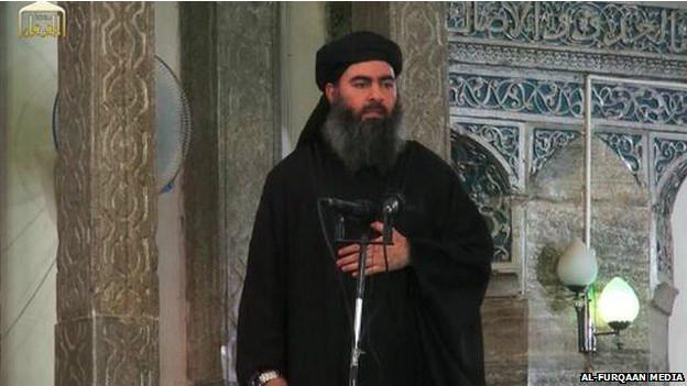 आईएसआईएस प्रमुख अबू बकर अल-बगदादी