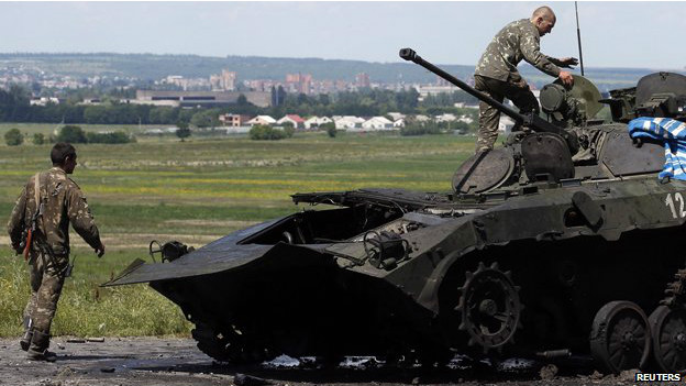 Governo reconquista cidades-chave no leste da Ucrânia