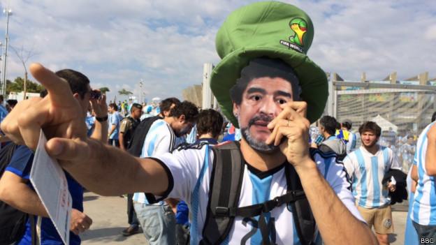 Fã argentino (BBC)