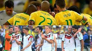 Brasil x Alemanha abre as semifinais da Copa do Mundo de 2014