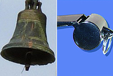 A bell and a whistle