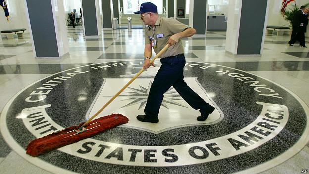 Уборка в ЦРУ