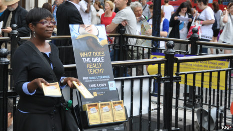 Testigo de Jehová.