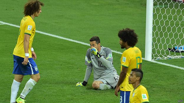 Brasil derrotado