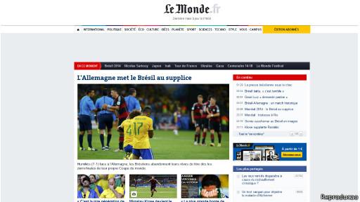 Le Monde (Reproduction)