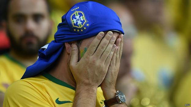 Hincha brasileño