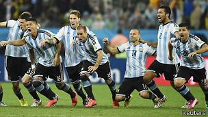 Jugadores de Argentina
