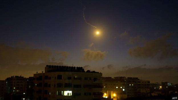 Ataques sobre Gaza