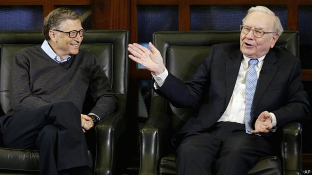 Buffett y Gates