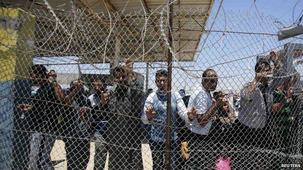 Cruce fronterizo de Rafah