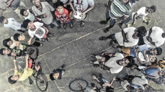 Группа людей в Маниле