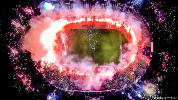 Стадион в Болгарии