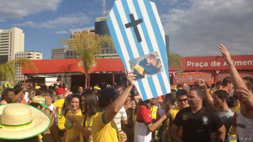 Torcida em Brasília