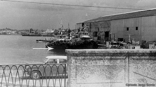 Remolcadores en el puerto de La Habana