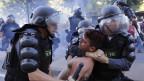 Protesto no Rio   Crédito: AP