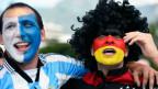Torcedores na final (AFP)