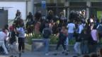 Protesto no Rio   BBC