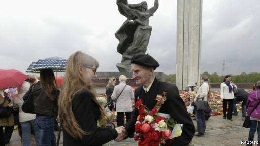 Празднование Дня Победы в Риге, 9 мая 2014 года