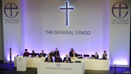 Sínodo geral da Igreja Anglicana (Getty)