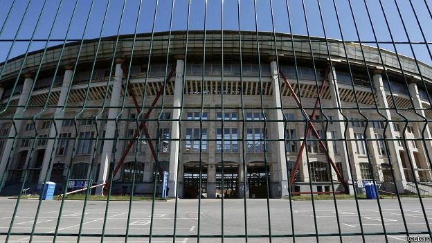 """Стадион """"Лужники"""" в Москве"""