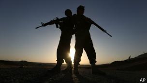 Солдаты афганской армии