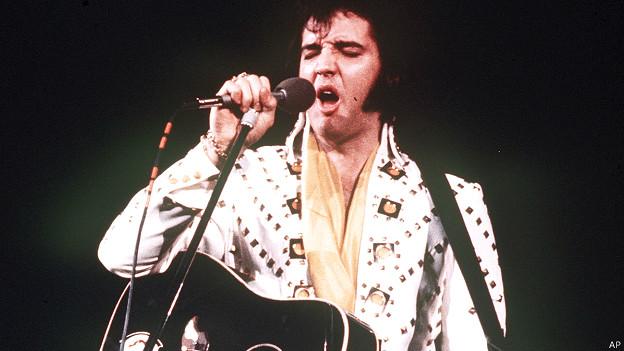 Элвис на концерте в 1973 году