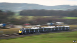Поезд в Эшфорде