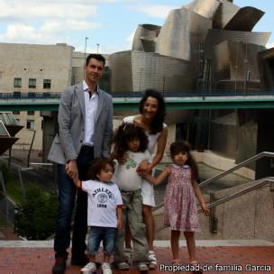 La familia García.