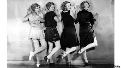 Minifalda en los años 20