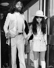 John Lennon y Yoko