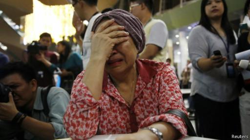 Keluarga penumpang MH17