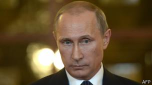 El presidente de Rusia Vladimir Putin.