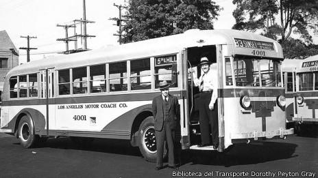 Autobús en Los Ángeles