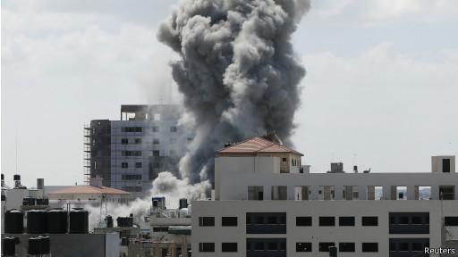 Ataque em Gaza (Reuters)