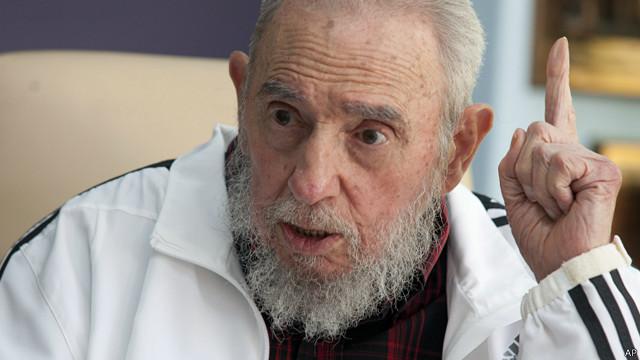 Fidel Castro, expresidente de Cuba